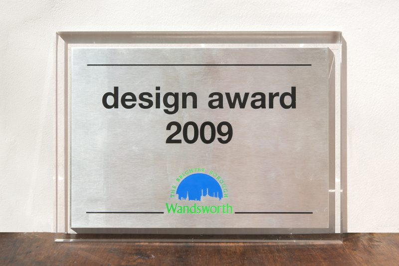 Design Award 2009-10. Wandsworth Council, London