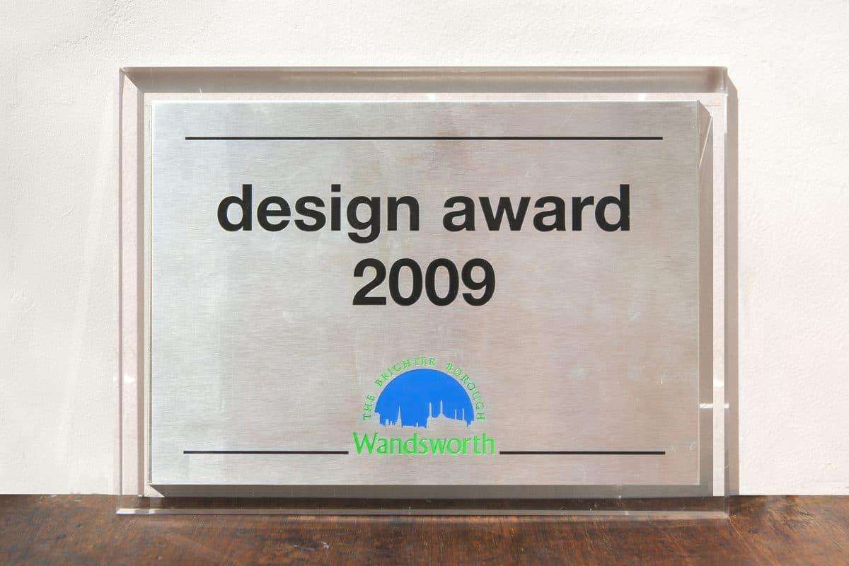 Design Award 2009-10. Wandsworth Council, London