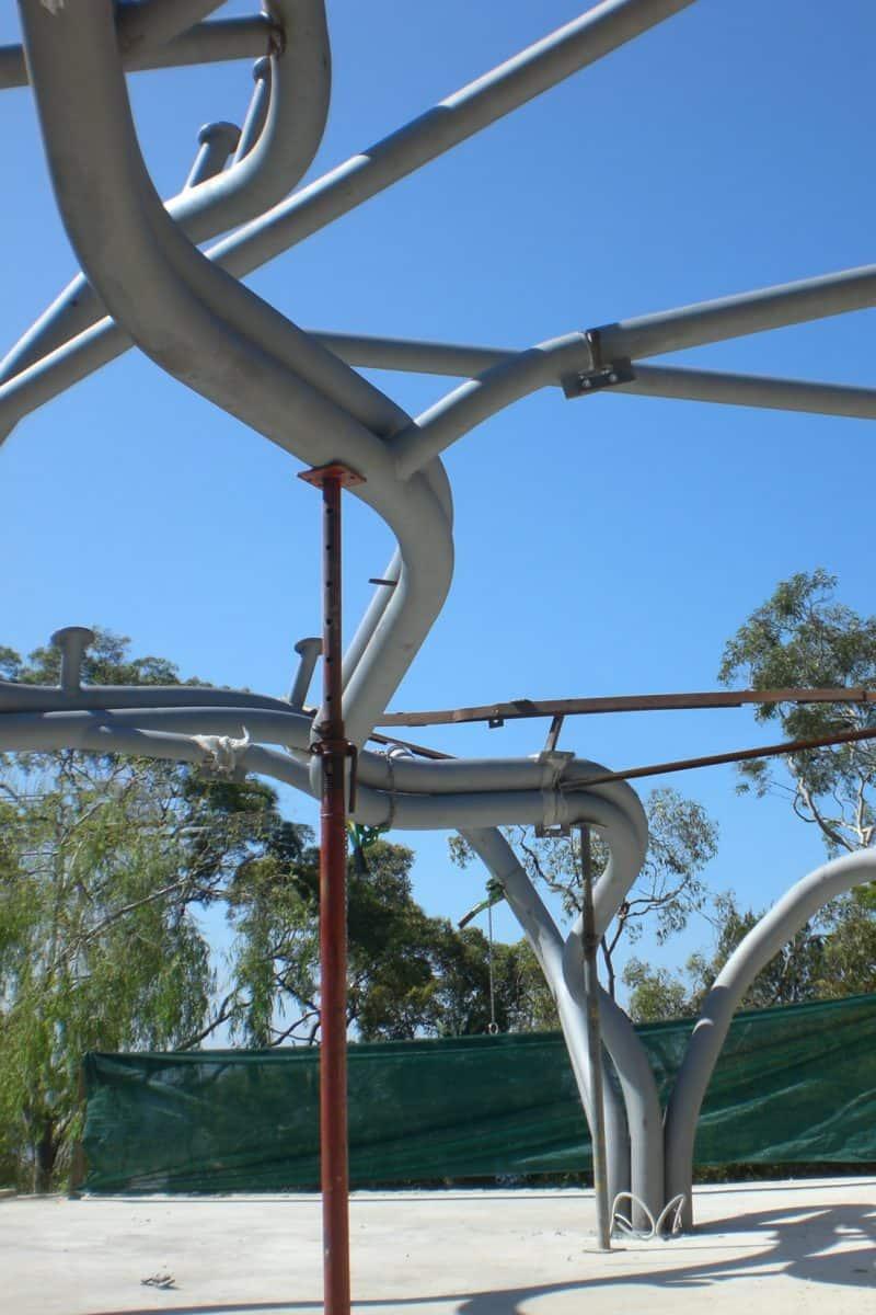 Leaf House Site Construction