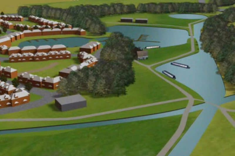 Waterside housing